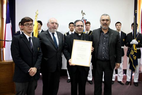 Instituto Salesiano de Valdivia recibió importante reconocimiento