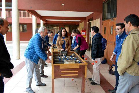 Así celebró Santiago Sur al educador salesiano