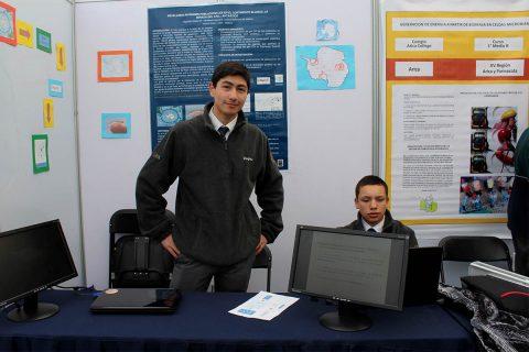 Jóvenes investigadores del ISV obtuvieron primer lugar en Feria de Ciencia y Tecnología