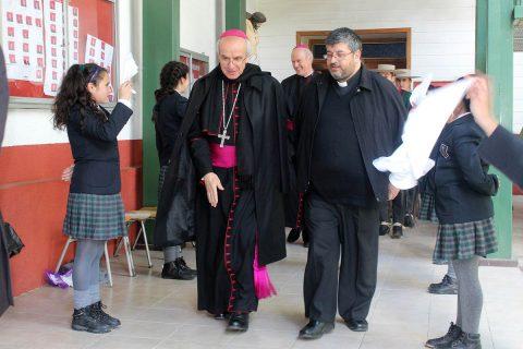 Representante del Papa Francisco visitó la obra salesiana de Linares