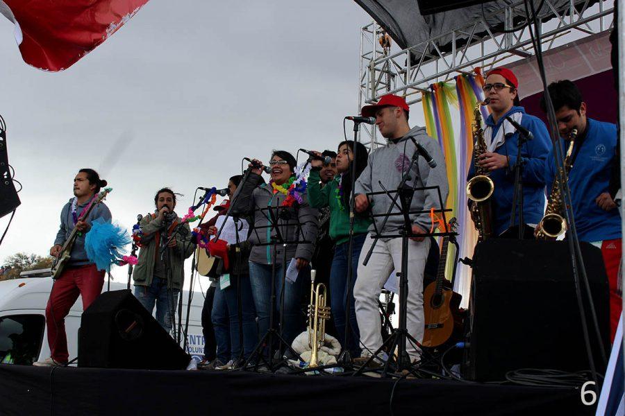 [Fotoreportaje] Protagonismo salesiano en Peregrinación a Los Andes