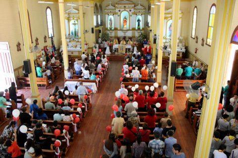 120 años celebró el Santuario Sagrado Corazón de Jesús de Iquique