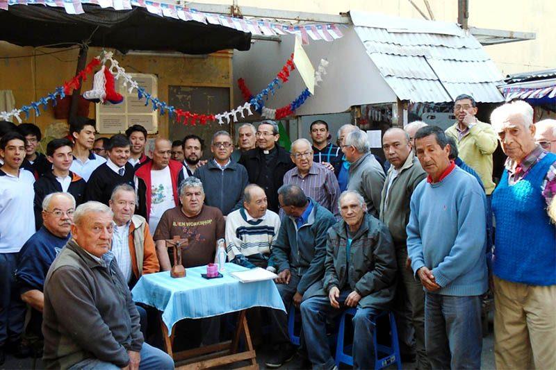 Salesianos Alameda entregó donaciones de primera necesidad en la ex Penitenciaría