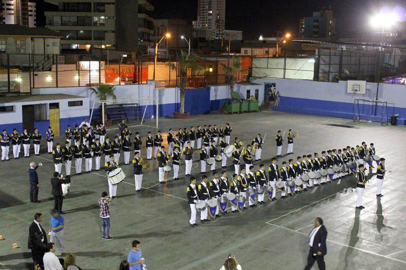 Bendición a la Banda de Honor del Colegio Don Bosco de Iquique
