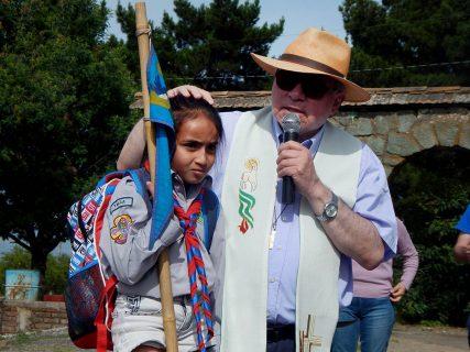 Salesianos Talca peregrinó al Cerro de la Virgen para dar término al Año de la Misericordia