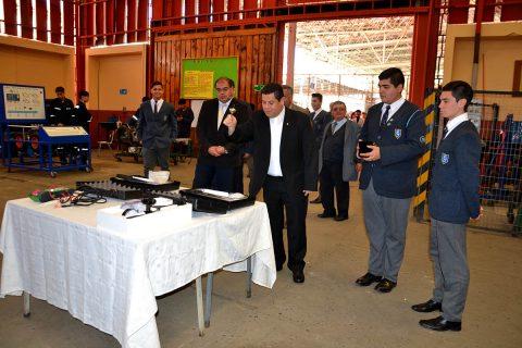 Salesianos Valparaíso inauguró equipamiento de vanguardia y homenajeó a impulsores de la educación TP