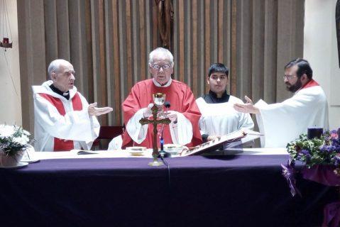 P. Patricio Saavedra celebró 60 años de vida sacerdotal