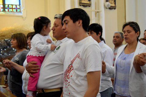 Familias de Salesianos Talca fueron enviadas a proyectar Luz de Cristo en el nuevo Año Jubilar