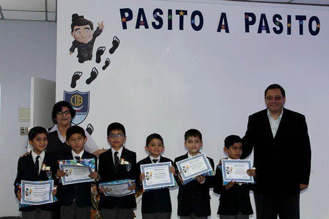 Primeros básicos del Colegio Don Bosco de Iquique celebraron su inicio en la lectura