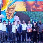 Salesianos Alameda plasma sus 125 años de historia en un mural