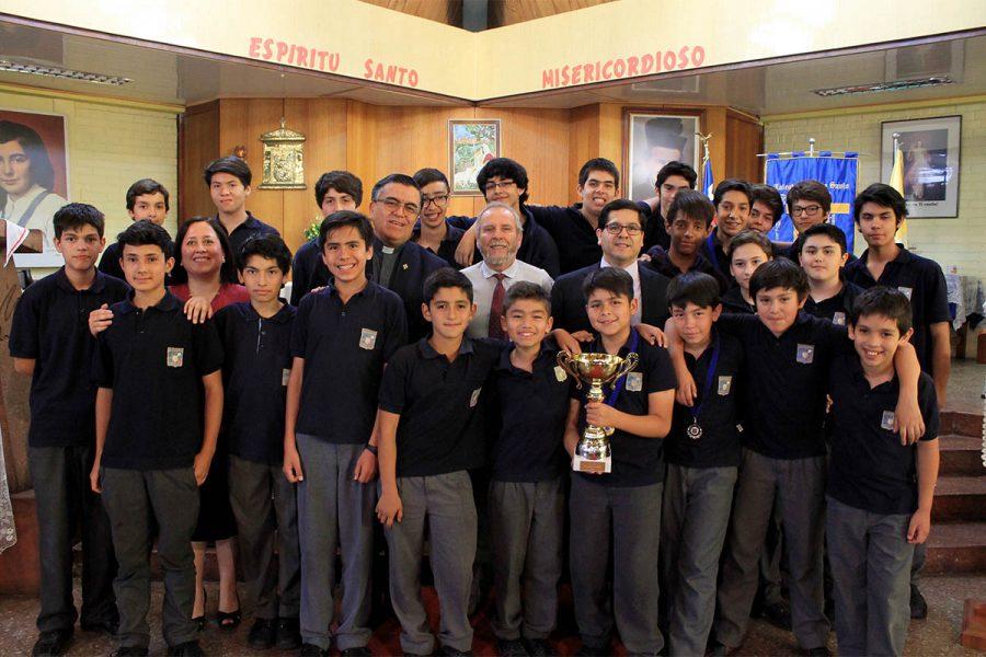 El LAB se coronó campeón de las Olimpiadas Salesianas de Matemáticas