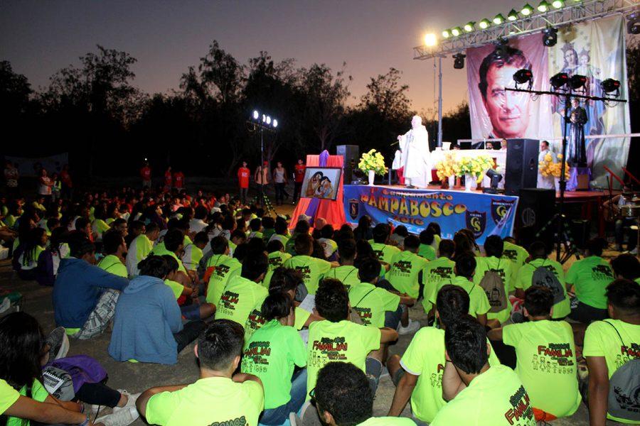"""Inició campamento """"Pampa Bosco"""" en el Norte Grande"""
