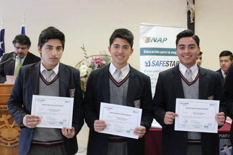 Cerca de cien jóvenes del IDB de Punta Arenas mejoraron sus competencias en seguridad laboral