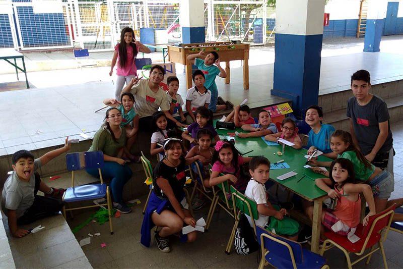 Salesianos Alameda vive las Colonias Salesianas Villa Feliz en Lo Prado
