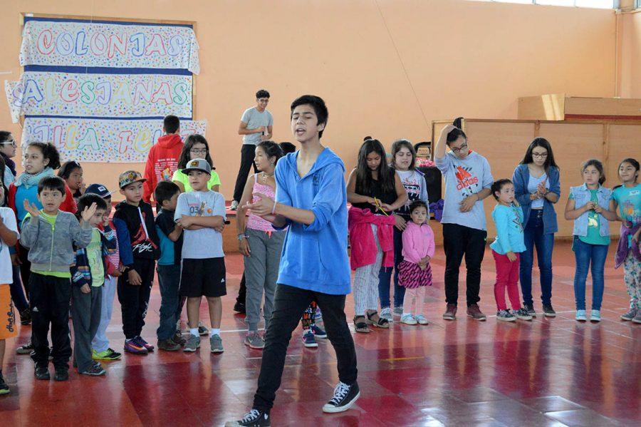 Enriquecedora experiencia en Colonias Salesianas de Valdivia