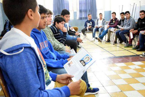 Valdocco: Primera experiencia significativa para primeros medios de Salesianos Talca