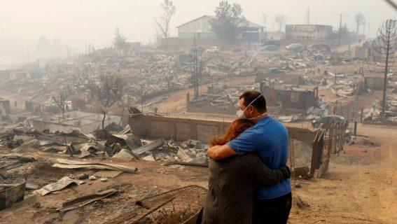 Solidaricemos con nuestros hermanos que sufren por los incendios