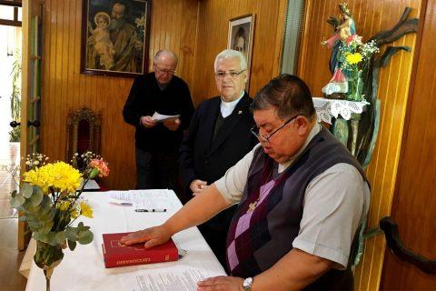 Toma posesión nuevo director de la comunidad salesiana de Puerto Natales