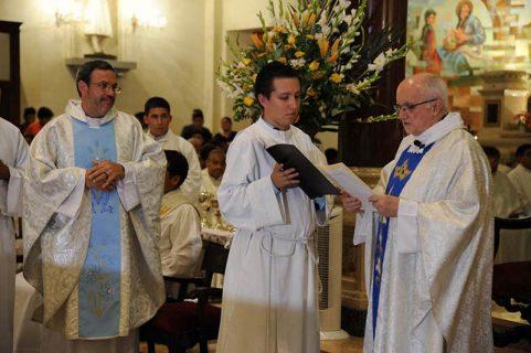 Toma de posesión del Inspector del Perú: P. Manuel Cayo