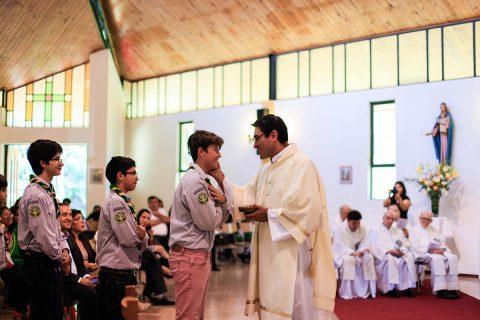"Ordenación Diaconal Oliver Villarroel: ""Prometí quedarme siempre junto a Don Bosco"""
