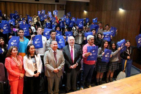 Dirigentes estudiantiles del Instituto Salesiano de Valdivia se comprometen con el Censo 2017
