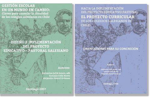 Dos libros esenciales para el quehacer de los colegios salesianos chilenos