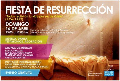 Ven a celebrar la resurrección este domingo frente a la Gratitud Nacional
