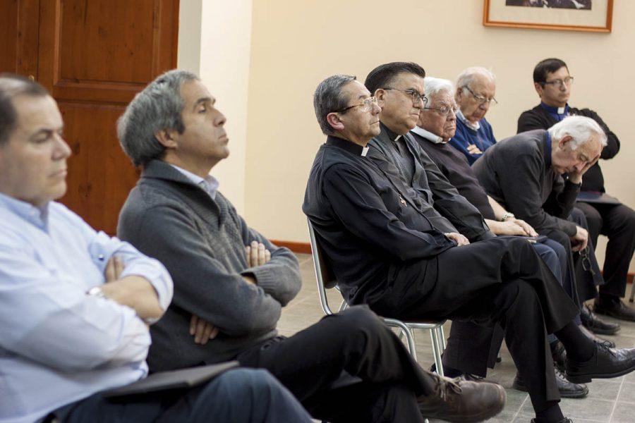 P. Francesco Cereda se reune con hermanos salesianos de La Cisterna, Alameda y Casa Inspectorial