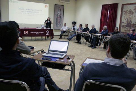 Ecónomos de comunidades religiosas salesianas reunidos en Casa Inspectorial