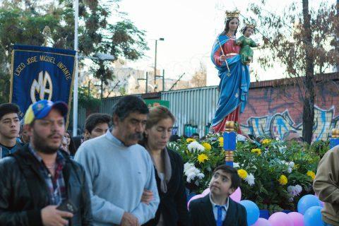 """Con María Auxiliadora """"Somos Familia"""""""