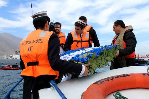 Salesianos Iquique rindió homenaje a héroes de la Guerra del Pacífico