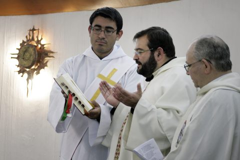"""25 años de Profesión Religiosa, P. Carlo Lira: """"El Señor cambió mis planes"""""""