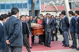 Funeral portero Valparaíso