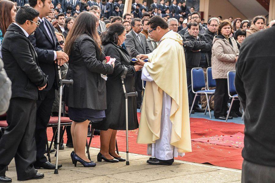 Último adiós a 'Huguito', portero por más 45 años en Salesianos Valparaíso