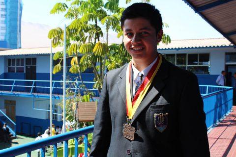 Alumno salesiano de Iquique obtuvo destacada posición en nacional de mountain bike