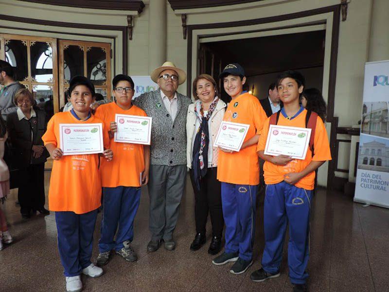 Colegio Don Bosco de Iquique obtuvo el primer lugar en la 'Patrimoniatlón' de Tarapacá