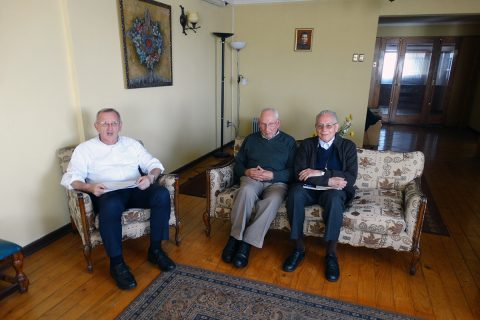 Así fue la última reunión en Chile del Vicario del Rector Mayor