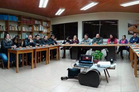 Secretarios y Coordinadores de Pastoral se reúnen para tratar temas atingentes a su rol