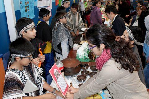Salesianos Iquique hizo un tributo a los pueblos originarios de Chile