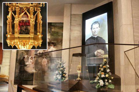 La Reliquia de Don Bosco en camino a casa