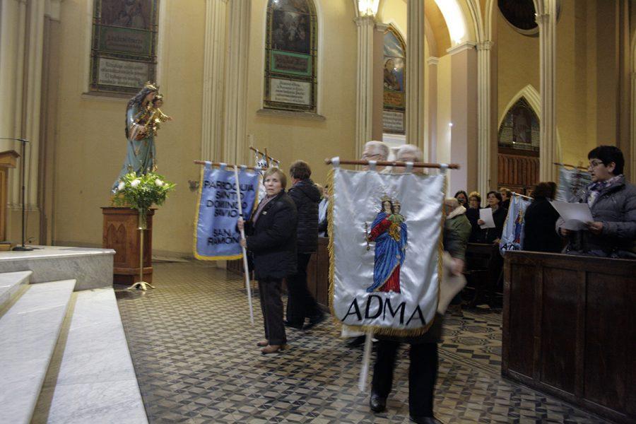 Día de ADMA: Renovación de promesas y nuevas incorporaciones