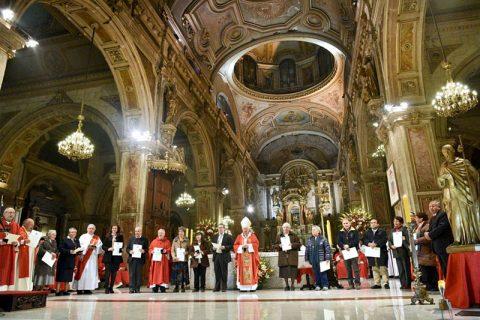 P. Hugo Strahsburger, César González y Sor Petronila Sepúlveda condecorados con la Cruz del Apóstol Santiago por su misión en medio de los jóvenes
