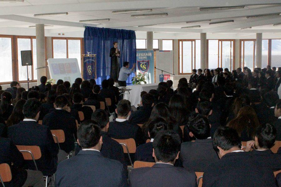 Alumnos del CTI Don Bosco Calama participan en charla dictada por Seremi de Minería