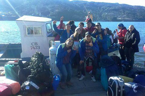 """Misioneros del MJS de Valdivia en Isla del Rey: """"La fe sin obra, no es fe"""""""