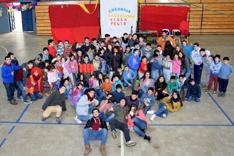 Talca: Colonias Salesianas 'Villa Feliz' en vacaciones de invierno