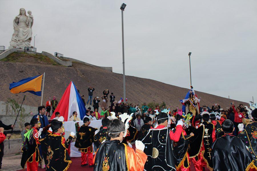 Tarapacá celebró fiesta de la Virgen del Carmen