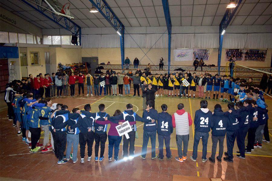 Destacada participación de Salesianos Macul en el interregional de voleibol salesiano