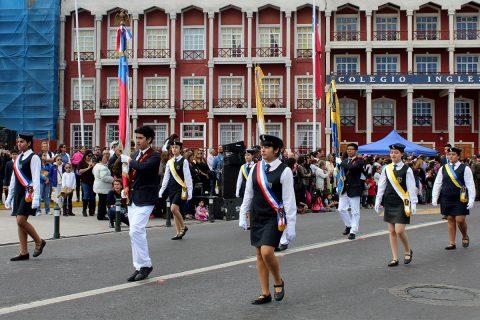 [Video] Desfile dominical en homenaje al Colegio Don Bosco de Iquique en sus 120 años