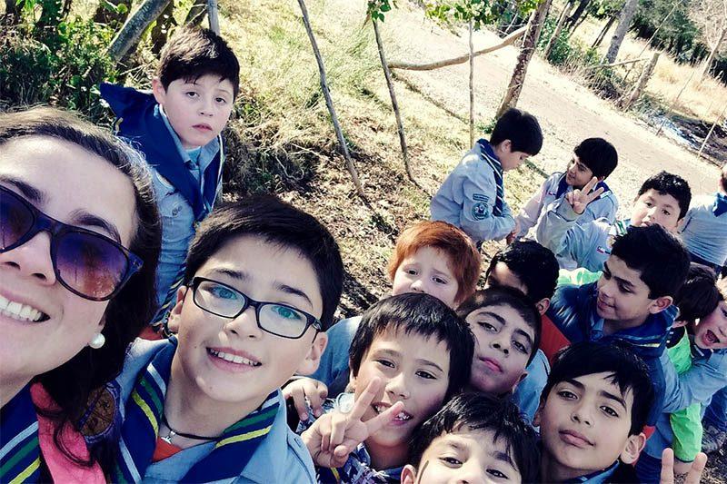 Más de cien niños participaron en el campamento de invierno Scout de Salesianos Concepción