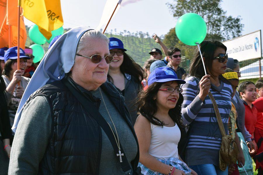 Caminata de Laura Vicuña: Somos Familia